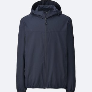 Uniqlo foldable raincoat
