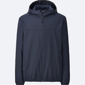 Uniqlo foldable raincoat
